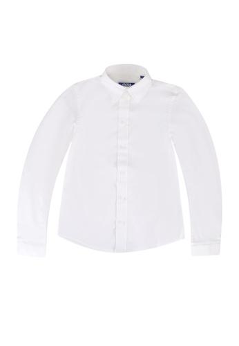 Jack & Jones white Mason Stretch Long Sleeves Shirt 34D42KAF587E0AGS_1