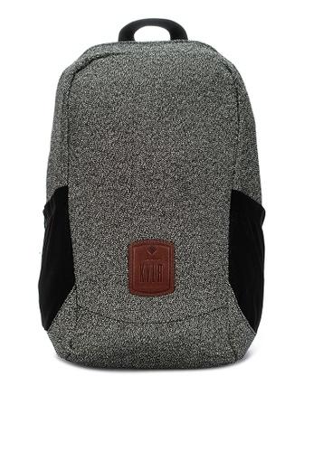 KVLR grey Cutproof Antislash Backpack With Rfid Pocket 2CB9AACD9BC71BGS_1