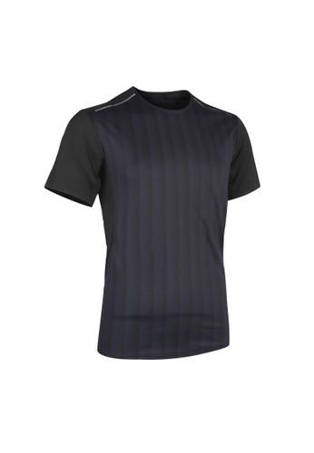 Decathlon Light Running T-Shirt - Marine Graph - 8604804 62616AAD083A6EGS_1