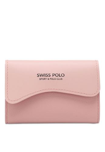 Swiss Polo pink Casual Card Holder 85A00ACDB371EFGS_1