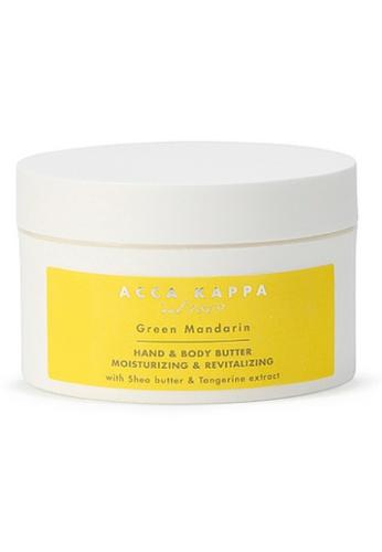 ACCA KAPPA Green Mandarin Body & Hand Butter AC019BE00EDFMY_1