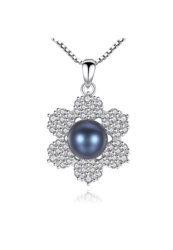 A.Excellence black Premium Black Pearl Elegant Necklace D4AA0AC33A5BA6GS_1