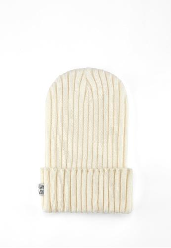 Life8 white Men and Women Knitted Retro Beanies-Beige【05308】 55C97AC963E614GS_1