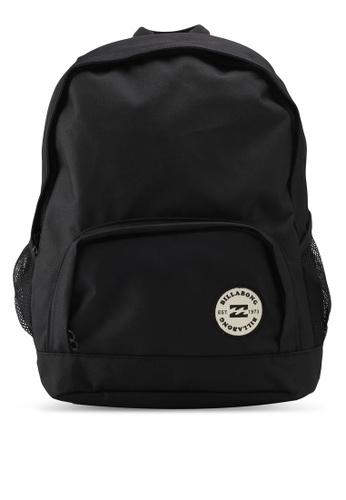 Billabong black Lost In Surf Backpack BI783AC0SZBMMY_1