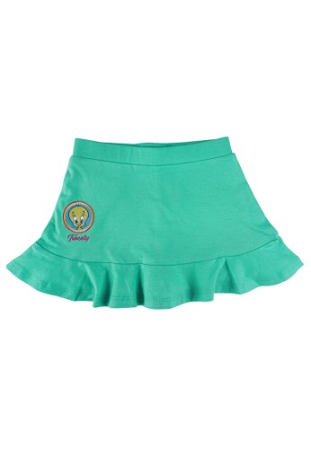 KIDS ICON green KIDS ICON - Rok Anak Perempuan Looney Tunes 03 - 36 Bulan with Ruffle Variation - LG6K0100200 62EC5KAE71E879GS_1