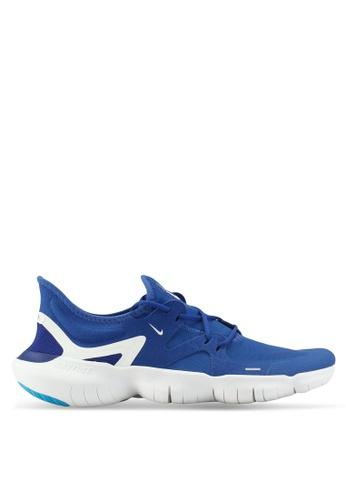 half off ab28e 79ff6 Nike blue Nike Free Rn 5.0 Shoes 1DF55SH28174D7GS 1