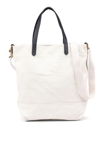 Banana Republic beige Mini Canvas Tote Bag - Solid 7E676AC75D8011GS_1