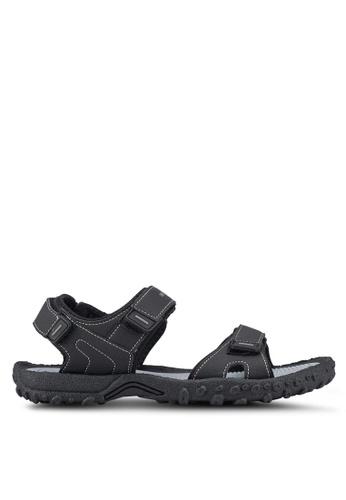 Weinbrenner black Strap On Sandals AE59FSH31C6DD2GS_1