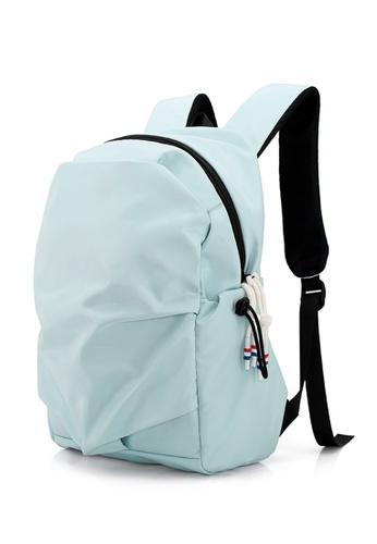 Jackbox Korean Fashion Wrinkle Young Gen Ipad Laptop Backpack 539 (Mint) 6967BAC5149CF6GS_1