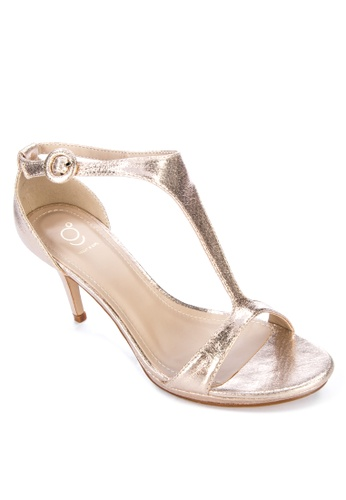 ABOUT A GIRL gold STRAPPY HEELS 94206SHCBF6760GS_1
