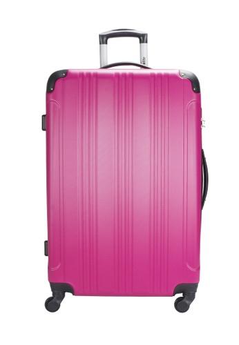 Urbanlite purple Urbanlite Echo 20 inch Spinner Hard Case Luggage -  ULH 7904 22462AC9B0D787GS_1