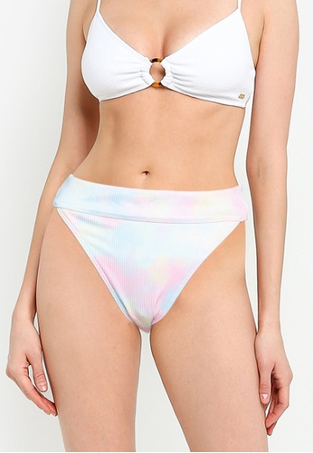 Hollister multi Rib High Waist Bikini Bottom 28368US58BBDDAGS_1