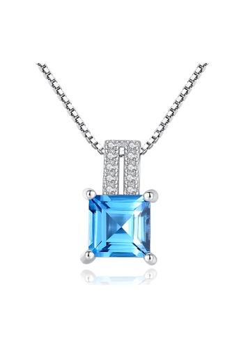 SUNRAIS silver Premium Silver S925 Silver Fashion Necklace 20B34AC3CF868FGS_1