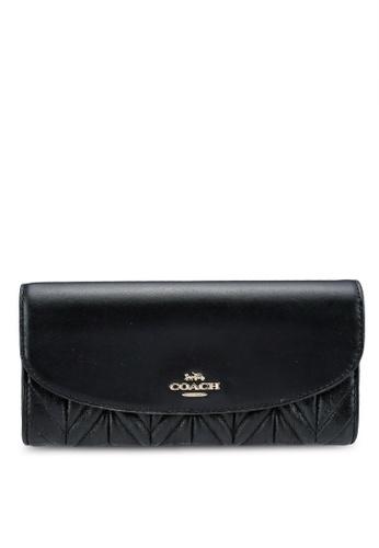 Coach black Slim Envelope Wallet (cv) 90F48AC51AD846GS_1