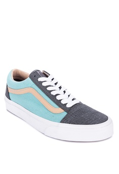 VANS multi Textured Suede Old Skool Sneakers 4DDC7SHABCEAB7GS 1 fcf9e63aa