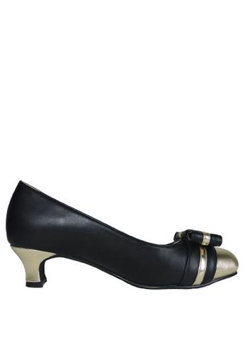 Jacque black Atheia Black Heels JA262SH24OZRMY_1