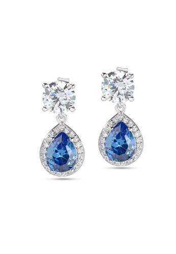 Morellato silver Tesori Earrings SAIW10 925 Silver Zircons B0D39AC0AF7D9FGS_1