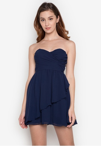 Rated E Fashion navy Mildred Dress RA951AA0K339PH_1