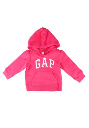 Gap pink Brand Logo Hoodie B1193KA430F71CGS_1