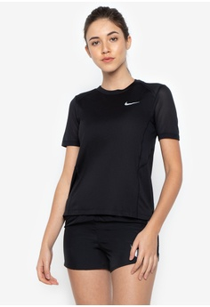 94be75e9928 Nike black Women s Nike Miler Short-Sleeve Running Top NI126AA0KPWRPH 1
