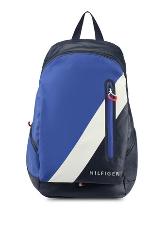Tommy Hilfiger navy BLOCK STORY BACKPACK TO861AC0SYGAMY_1