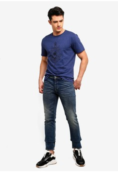 6aaa3f4aa715db 45% OFF MANGO Man Slim-Fit Vintage Wash Tim Jeans Rp 999.000 SEKARANG Rp  548.900 Ukuran 38 40 42 44
