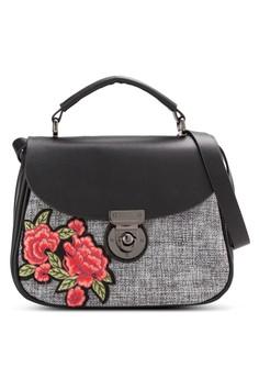 harga Dual Texture Crossbody Bag Zalora.co.id