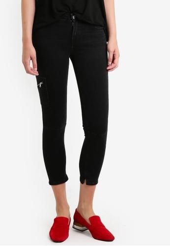 Mango black Crop Skinny Isa Jeans MA193AA0RAV8MY_1