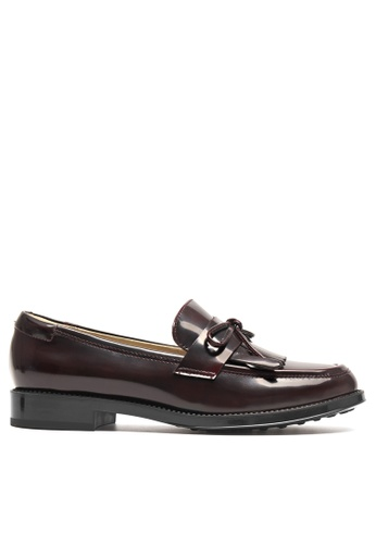 Twenty Eight Shoes Leather Bowtie Loafer YM27064 DAC51SH73A445AGS_1