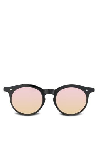 Anzalora鞋son 圓框太陽眼鏡, 飾品配件, 圓框