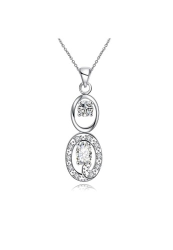 Tiaria white Tiaria Gold Plated NecklacePendant Fashion SPN098-D--K16 2BCF2AC5E25795GS_1