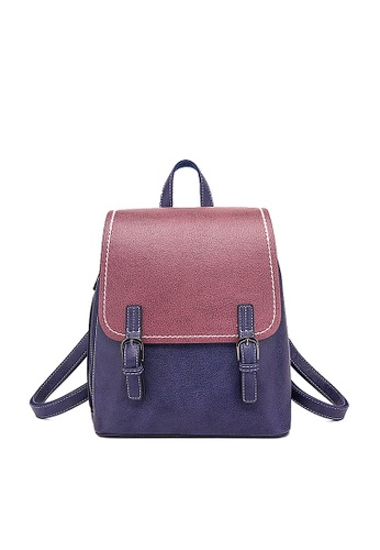 Twenty Eight Shoes purple VANSA Colour Matching Backpacks VBW-BpN0093S 82C4CAC3BE0097GS_1