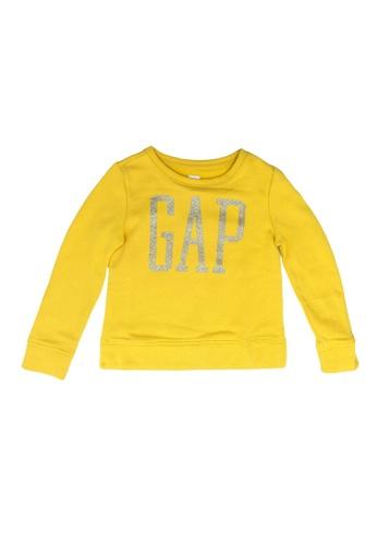 GAP yellow Logo T-Shirt 128C0KA24B40C1GS_1