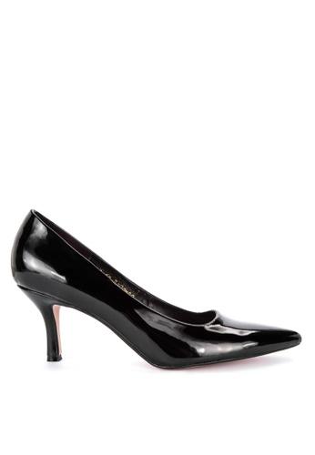 07a64e134f36b Shop Janylin Mid Kitten Heel Court Shoe Online on ZALORA Philippines
