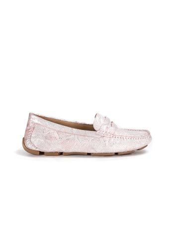 Shu Talk 粉紅色 Amaztep 舒服軟墊樂福鞋 57AB5SH5F0D8C9GS_1