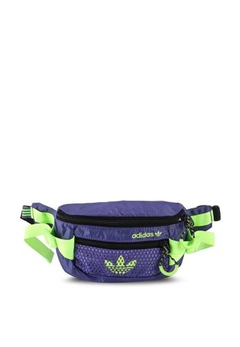 ADIDAS purple adventure waist bag C797EAC96ADB0CGS_1