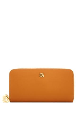 BONIA brown Choccy Bikki Long Zippered Wallet 0D823AC0834C37GS_1