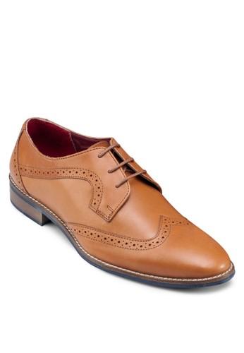 雕花正esprit 工作裝皮鞋, 鞋, 鞋