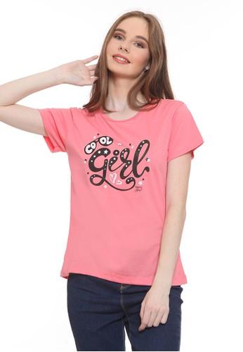 Habitat pink Cool Girl T-Shirt 2292EAA61EE073GS_1