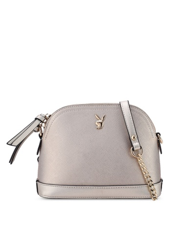 5ac0be2528ae Shop PLAYBOY BUNNY Ladies Chain Sling Bag Online on ZALORA Philippines