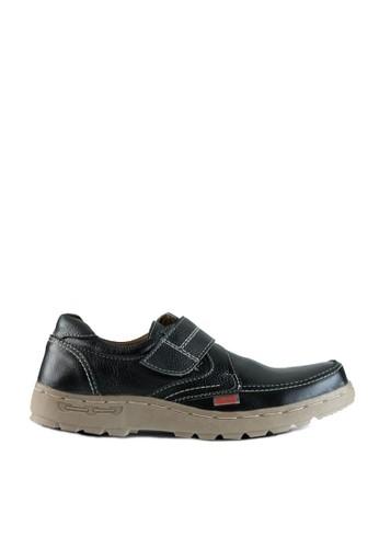 Sogno black Sepatu Slip On Pria GF.5211 14B7ESH92297EDGS_1