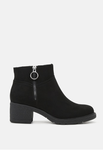 London Rag 黑色 黑色短靴 SH1812 6ED5DSHF73FE87GS_1