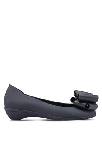 Twenty Eight Shoes 黑色 蝴蝶結平底鞋 1287ASH0B988D7GS_1