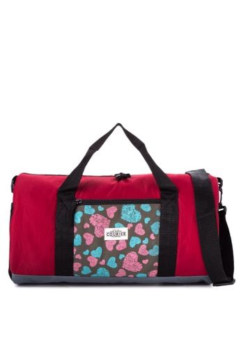 Courier red Duffel Bag CO826AC71RTWPH_1