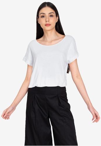 Chictees white Samantha Shirt 735ADAA3B4D938GS_1