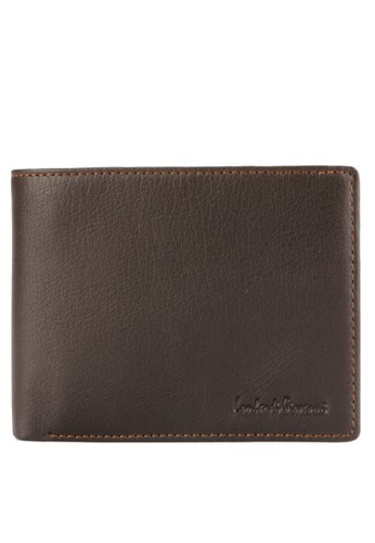 LOMBARDI GIOVANNI brown Vino Trifolds Wallet 841EAAC9549397GS_1