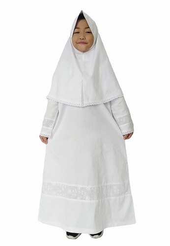 Arafah white Gamis Anak 01 3AA91KA0B64B4EGS_1