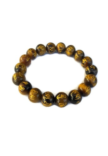 Shop Be Lucky Charms Feng Shui Tiger Eye All Protection Mantra Stone