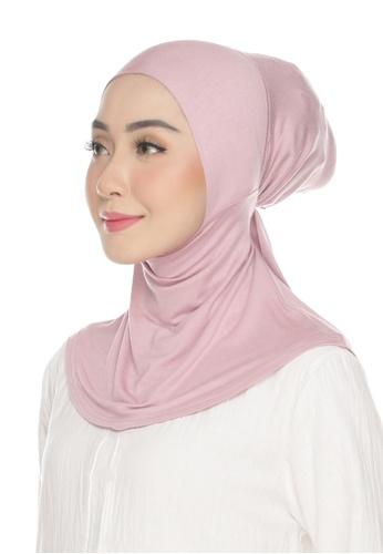Kaen.co pink Awra Necktie Ash Pink (Adjustable Inner Neck) DF018AA54F6BFDGS_1