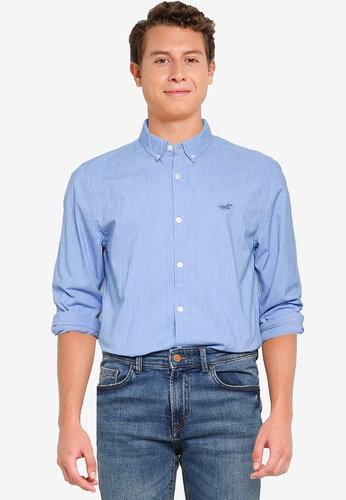 Hollister blue Emea Shirt 538A2AAB6B747DGS_1